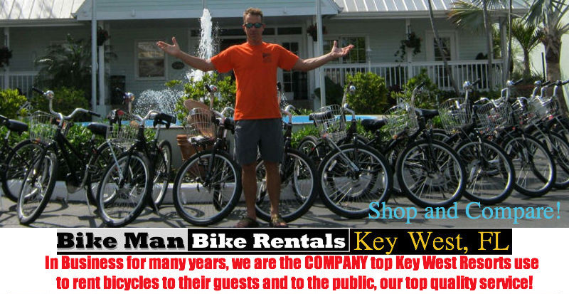 Where to rent bikes in Key West