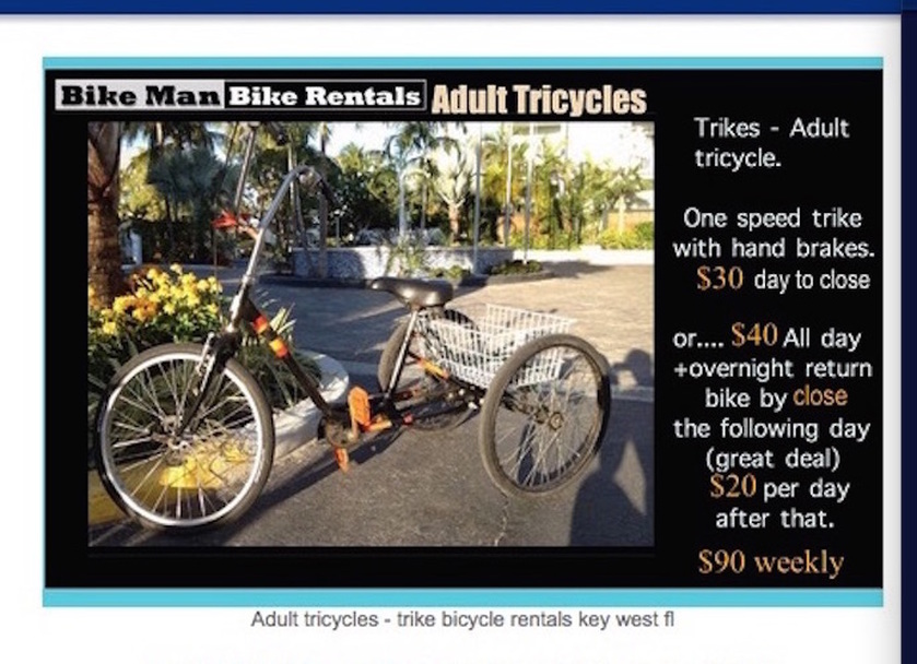 Trikes for adults