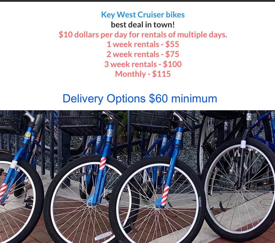 Key West bicycle rental